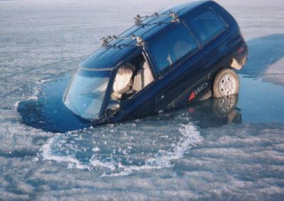 Car in Ice